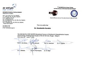 Cranio-Maxillofacial Teaching Institute Bruges VZW